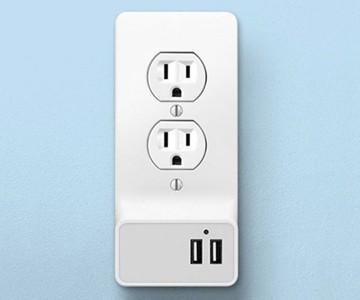 Instant Snap-On Smart Wall Outlets