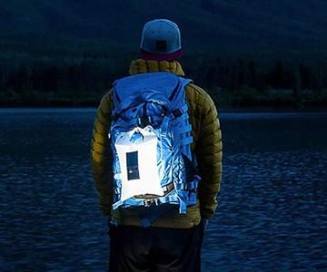 LuminAID PackLite 16 Inflatable Solar Light