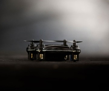 Matte-Black Limited Edition SKEYE Nano Drone