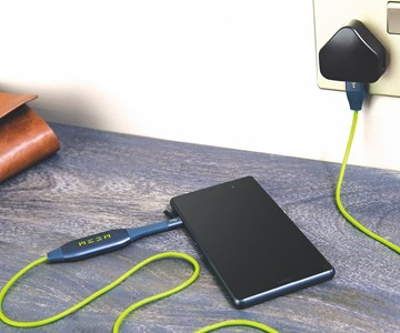 MEEM Phone Charger & Automatic Backup Cable