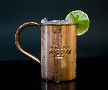 Moscow Copper Co. Copper Mule Mugs