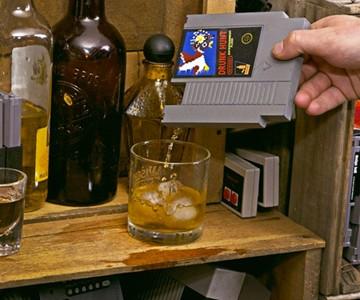 Nintendo Game Cartridge Flasks