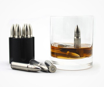Whiskey Bullets & Cylinder Set