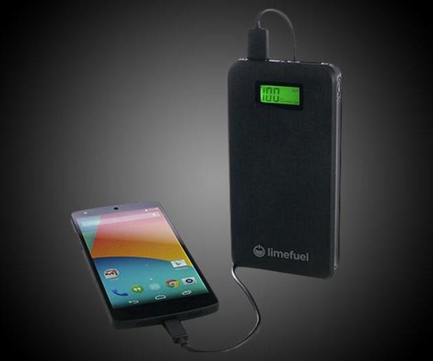 LimeFuel Lite 15,000mAh USB Battery Pack