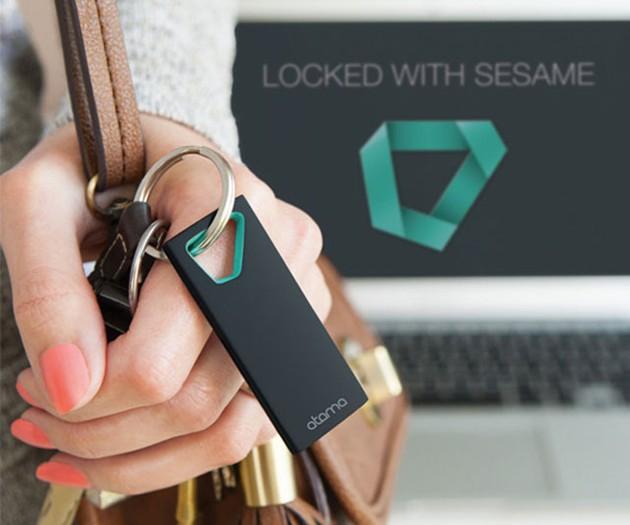 Sesame 2 Auto-Lock Keychain for Mac