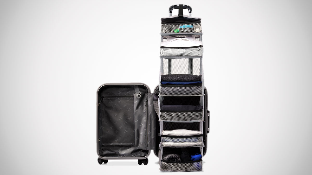 The Carry On Closet Suitcase Dudeiwantthat Com
