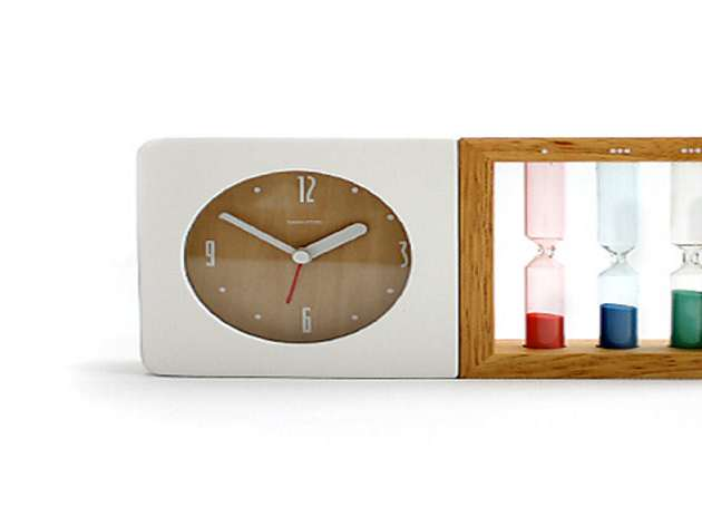 Three Hourglass Alarm Clock Dudeiwantthat Com