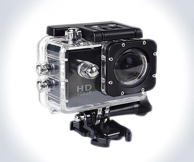 Waterproof Sport HD Video Camera | DudeIWantThat.com