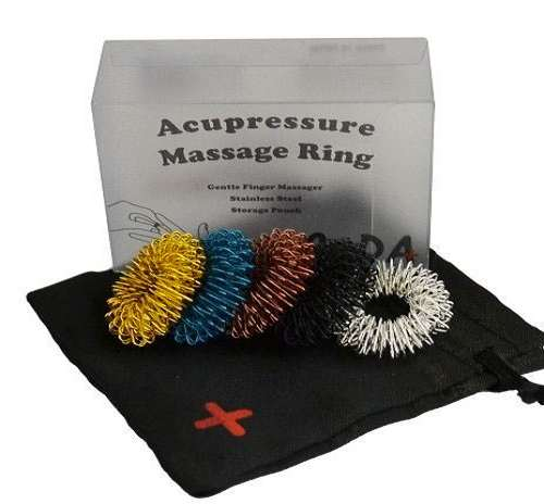 Chinese Acupressure Massage Rings | DudeIWantThat.com