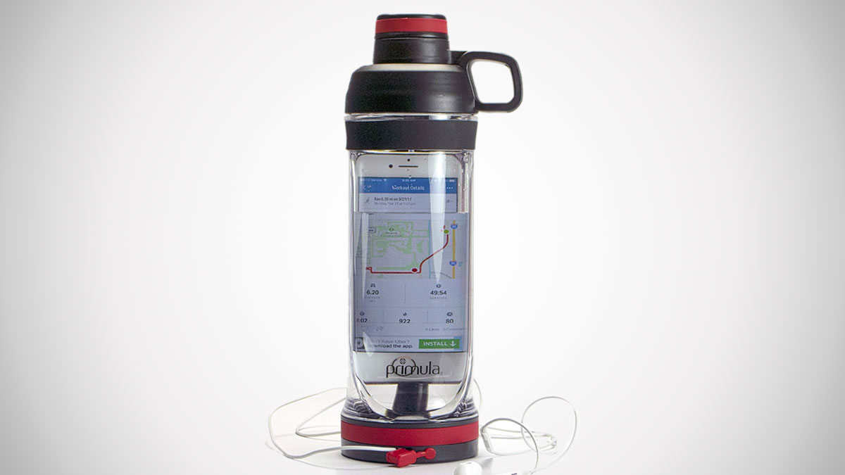 Phone Storage Water Bottle