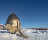 Solar Egg - The Golden Egg Sauna