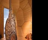 Solar Egg - The Golden Egg Sauna