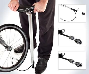 Bike Pump Seat Post