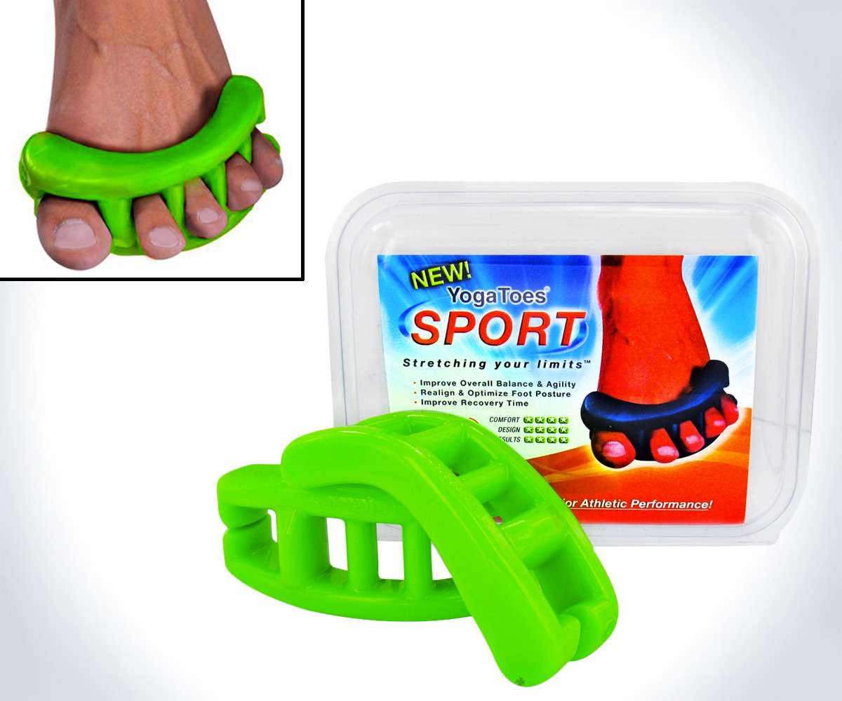 YogaToes Sport Gel Toe Stretchers - coolthings.us