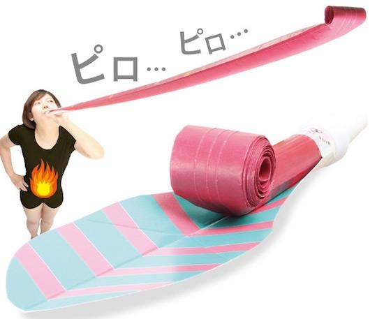 Gym Equipment Japan: Long Piropiro Lung Exercise Tool