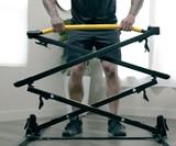 Bullbar Freestanding, Folding Pull-Up Bar