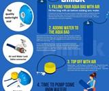 Dimok Aqua Bag - Workout Sandbag Filled with Water