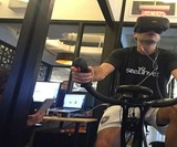 VirZOOM Virtual Reality Exercise Bike