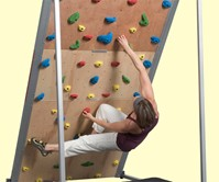 Treadmill Rock Wall