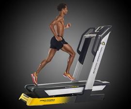 Boston Marathon Course-Simulating Treadmill