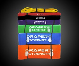Draper's Strength Pullup & Lifting Bands