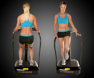 Vibration Plate Jiggle Fitness Machine