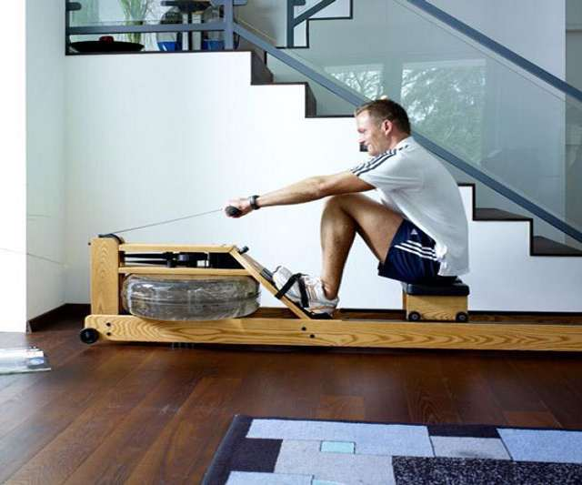 Waterrower Natural Rowing Machine Dudeiwantthat Com