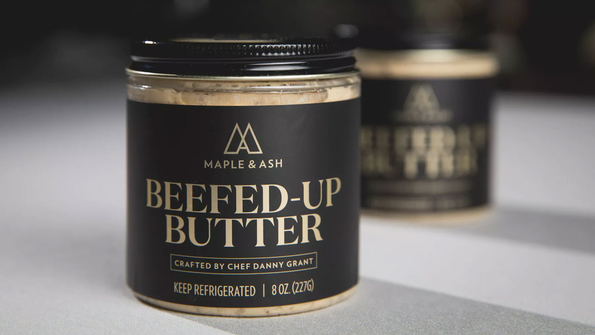 Beefed Up Butter