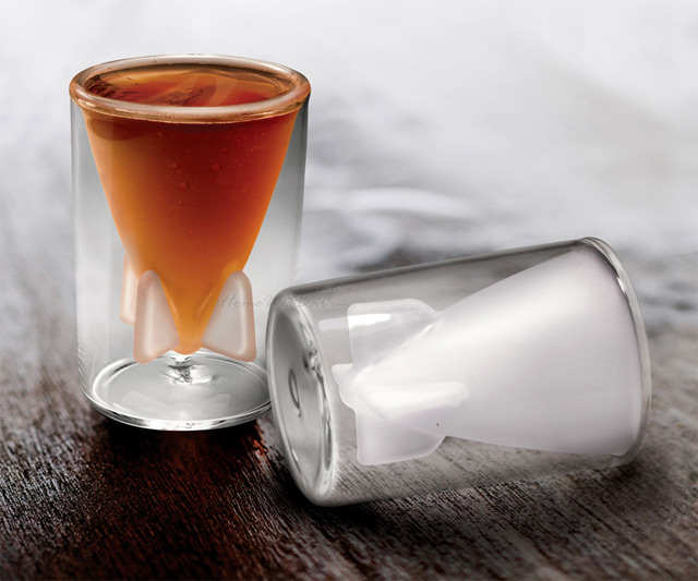 Bombs Away Shot Glass Set