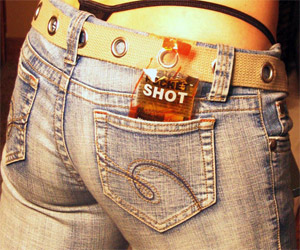 Pocket Shots - Portable Pouch O' Liquor