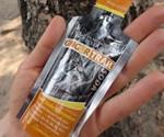 Powdered Soda Packet Closeup