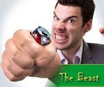 The Beast - Fist Can Koozie