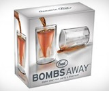 Bombs Away Shot Glass Box