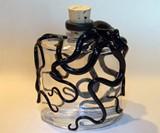 Kraken Flasks - Black, Back View