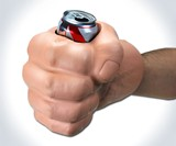 The Beast - Fist Can Koozie