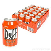 24 Cans Of Duff Beer
