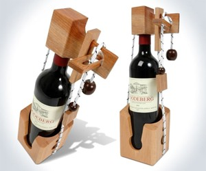 Don't Break the Bottle Wine Puzzle