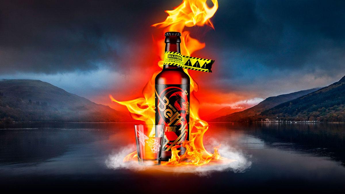 Scottish Beithir Fire 150-Proof Beer