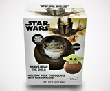 Baby Yoda Marshmallow-Stuffed Chocolate Ball