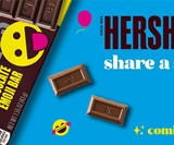 Hershey's Milk Chocolate Emoji Bars