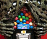 Zombie Gumball Machine Closeup