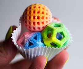 Sugar Lab 3D-Printed Candy