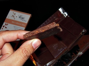 Bacon Flavored Chocolate Bar