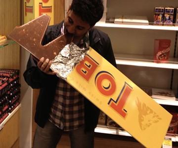 10-Pound Toblerone Bar