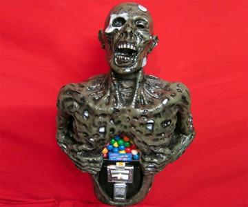 Zombie Gumball Machine
