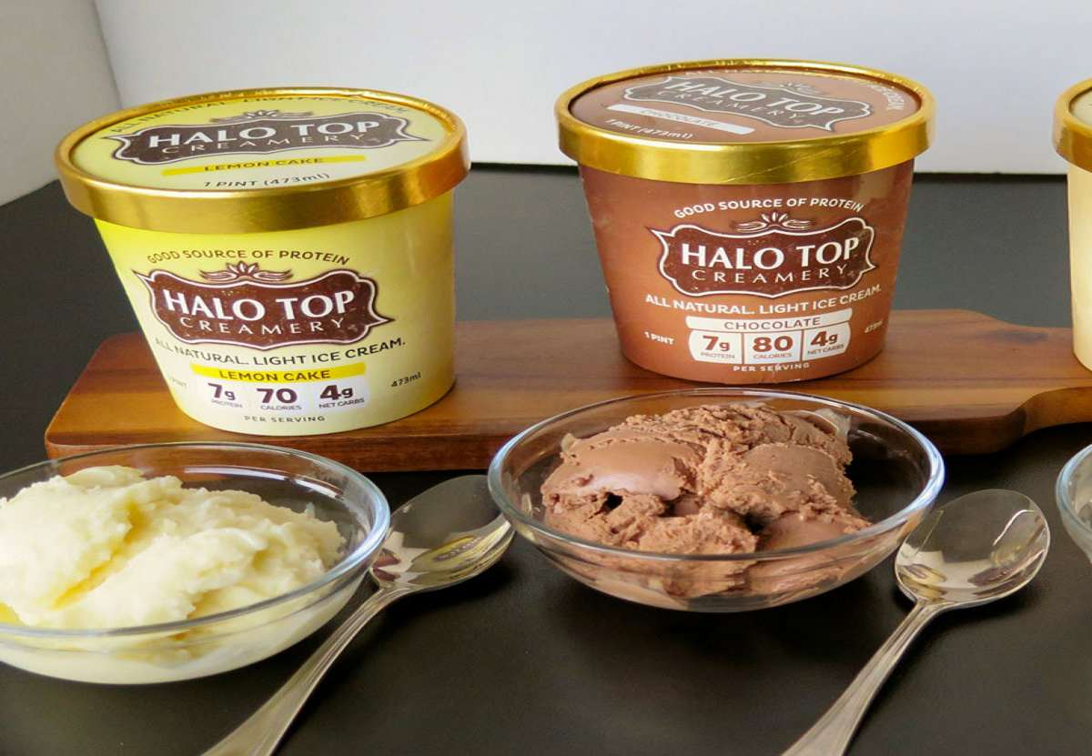 Halo Top Eat-the-Whole-Pint Healthy Ice Cream  DudeIWantThat.com