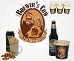 Brewer's Cow Sam Adams & Guinness Ice Cream