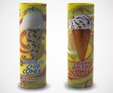 Cookie & Pretzel Ice Cream Cones