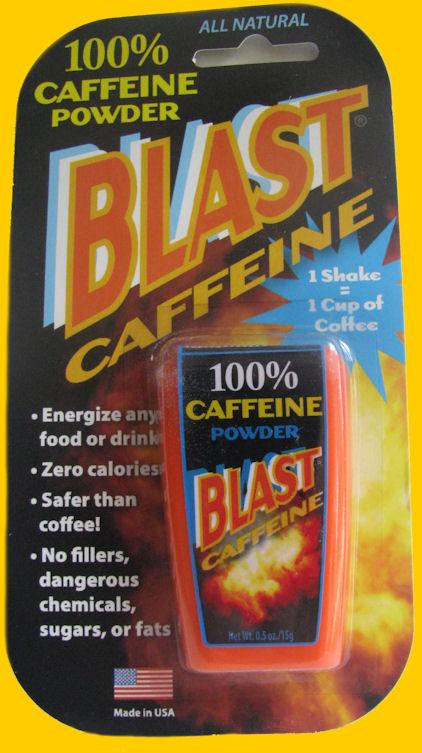 how to take caffeine powder