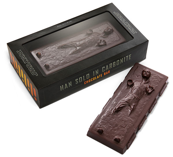 Han Solo Carbonite Chocolate Bar